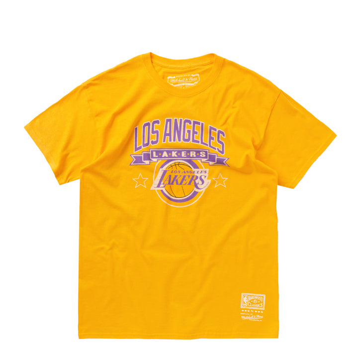 MITCHELL & NESS CAMISETA LOS ANGELES LAKERS AMARILLA
