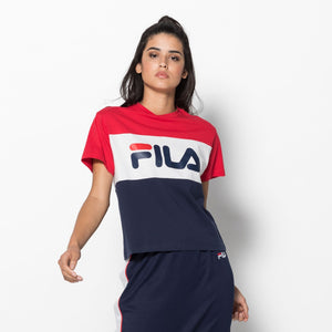 FILA WOMAN ALLISON TEE BLACK IRIS