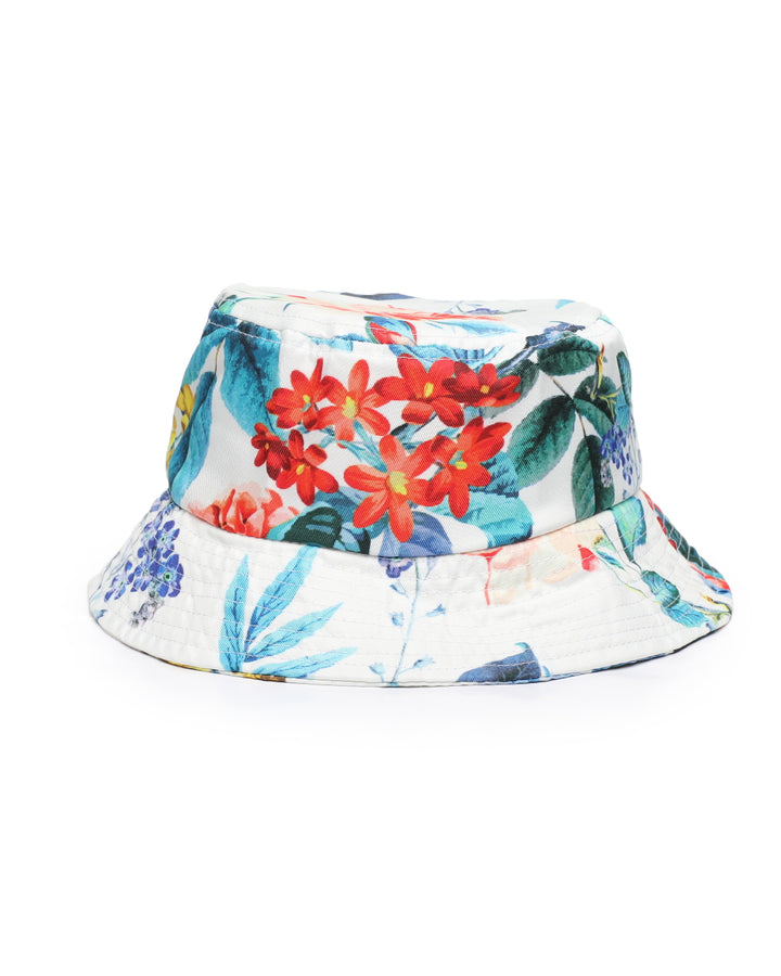 REASON CLOTHING RUSSEL BUCKET HAT WHITE