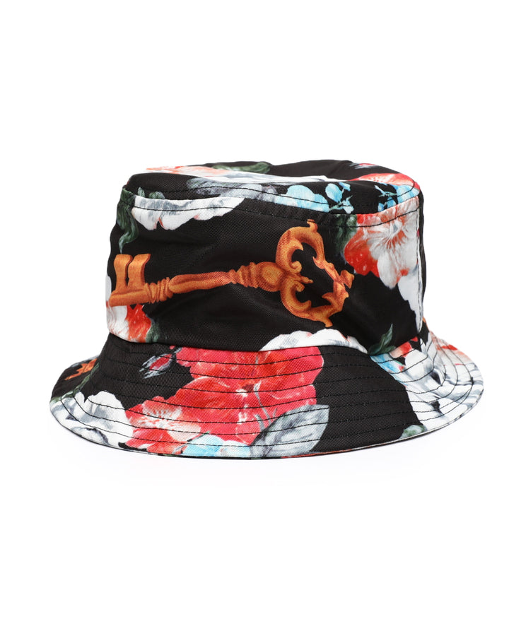 REASON CLOTHING BROOK BUCKET HAT BLACK