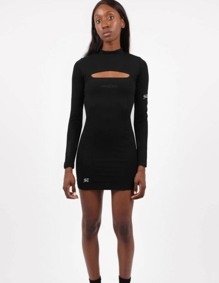 WASTED PARIS VESTIDO KATE NEGRO