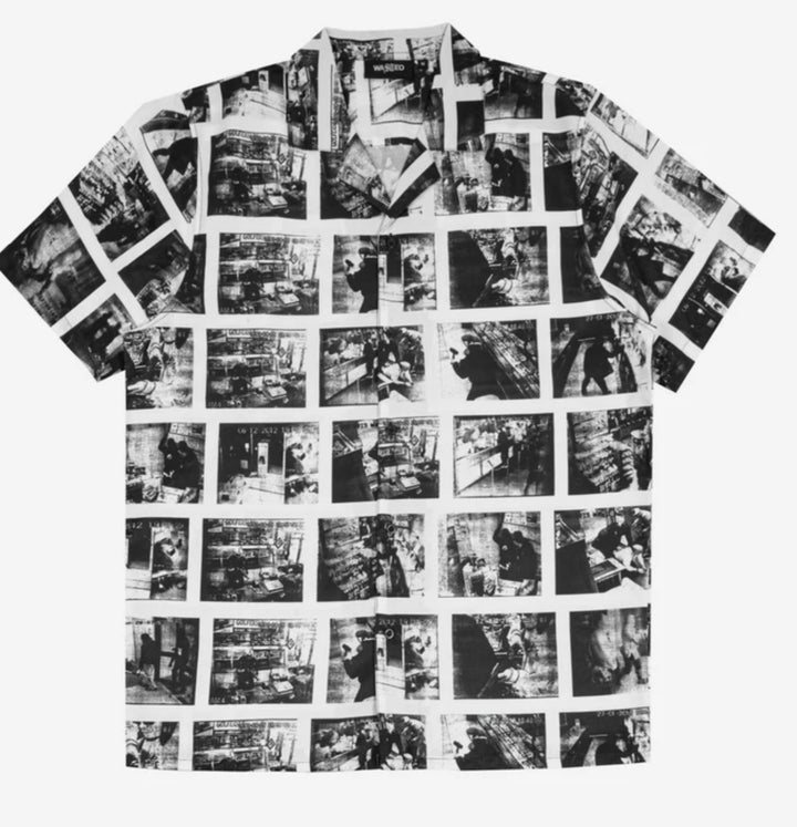 WASTED PARIS CAMISA CRIMINAL BLANCA