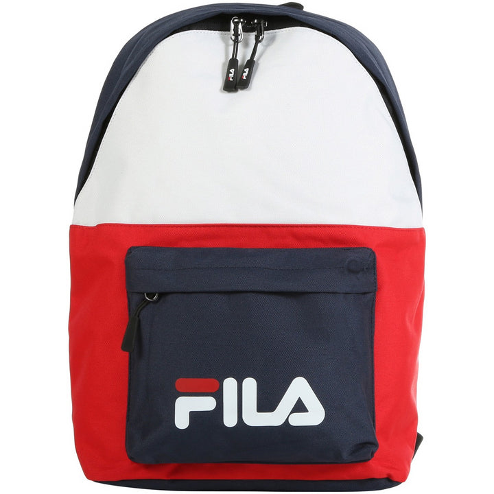 FILA NEW BACKPACK S'COOL TWO BLACK IRIS WHITE RED