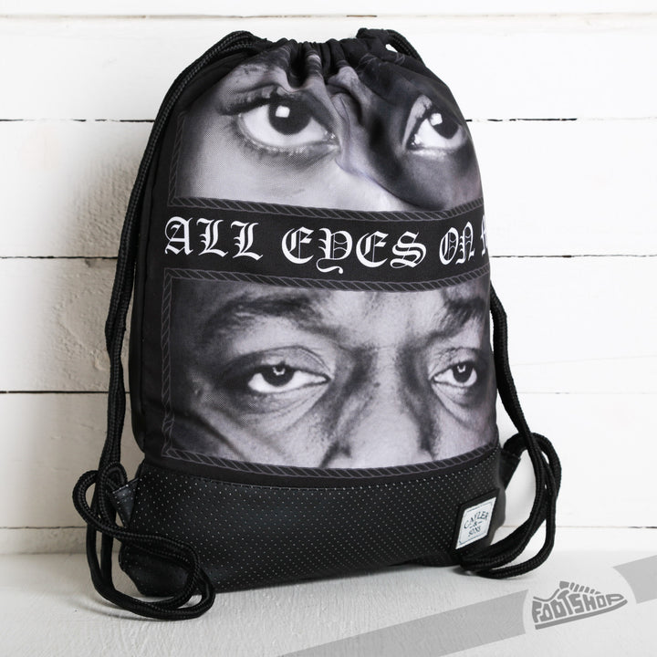 CAYLER & SONS GYMBAG ALL EYEZ ON ME NEGRA