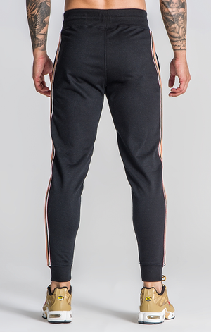 GIANNI KAVANAGH BLACK OLD SCHOOL JOGGERS BLACK