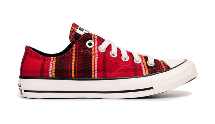 ALL STAR CONVERSE ZAPATILLAS CHUCK TAYLOR CTAS OX UNIVERSIDAD ROJAS Y NEGRAS