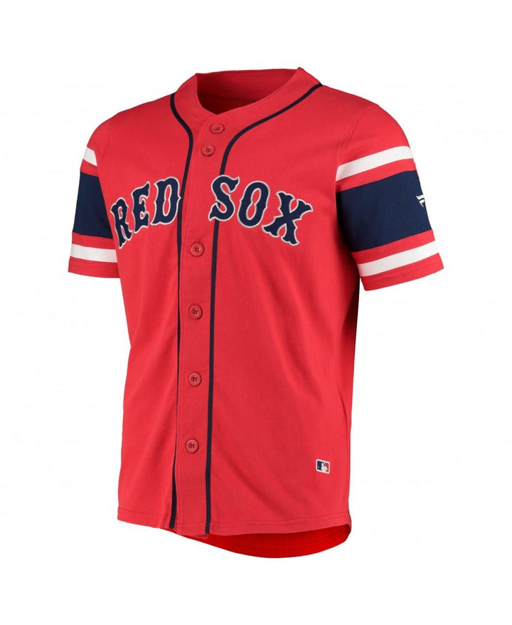 FANATICS MLB CAMISETA COTTON SUPPORTERS JERSEY RED SOX ROJA