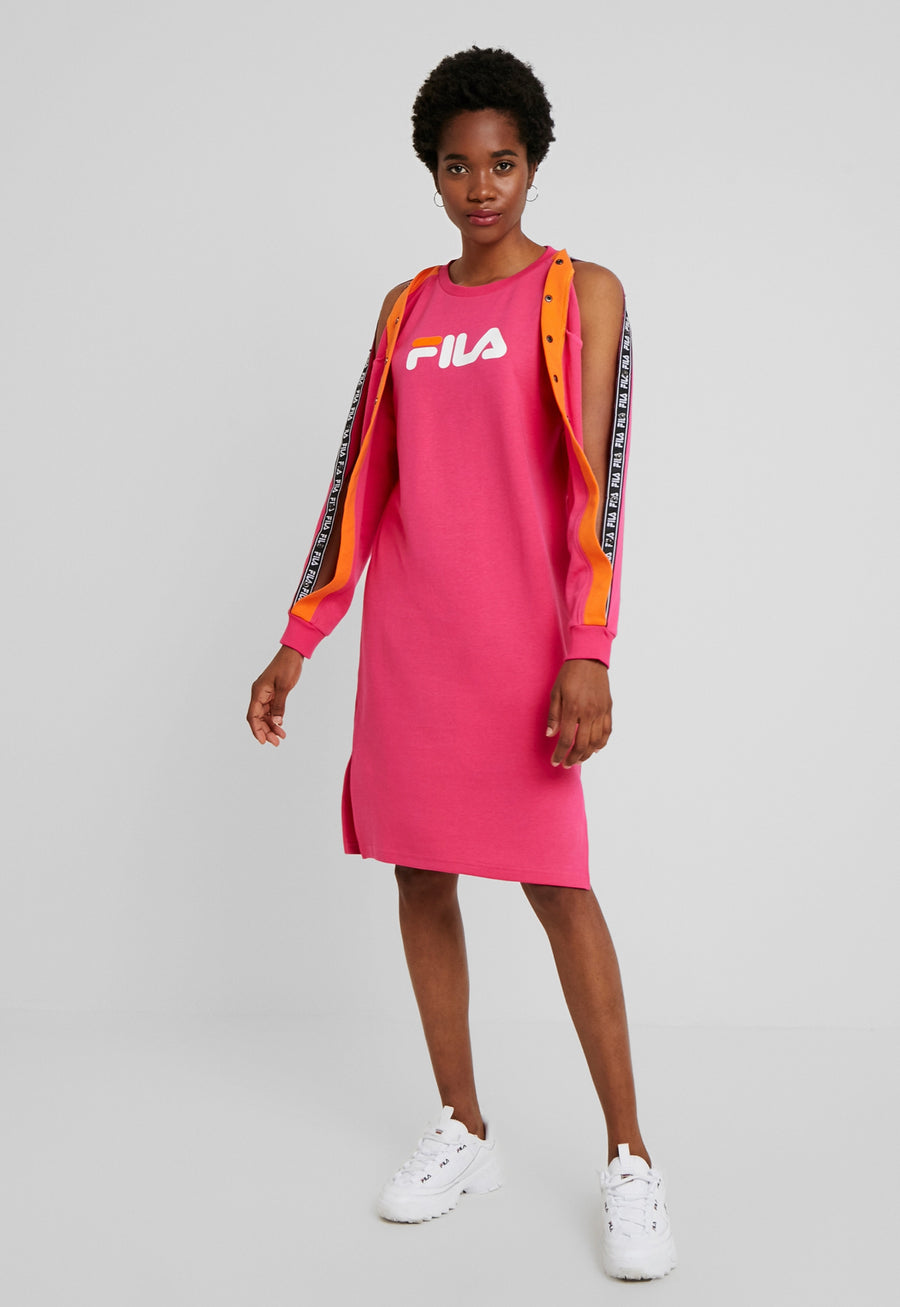 FILA MITSUKI BUTTONED CREW DRESS