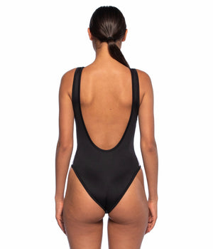 KAPPA AUBER 222 BANDA BODY WOMEN BLACK LUREX GOLD