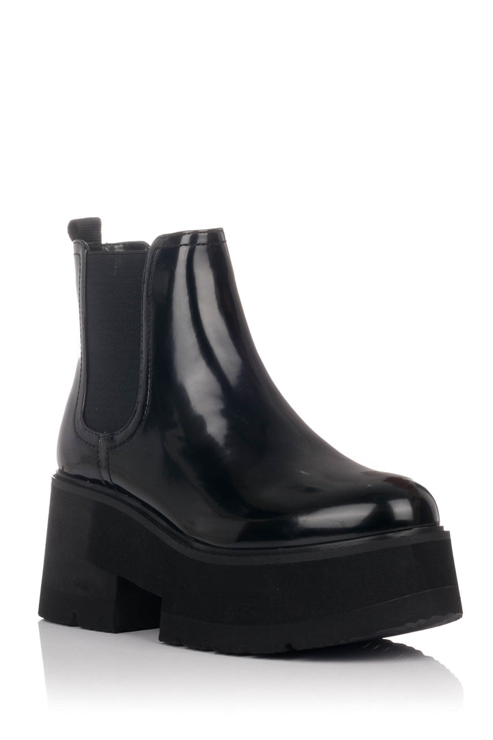 BUFFALO LONDON BOTAS FITA CHELSEA NEGRAS