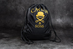 CAYLER & SONS FOREVER GYMBAG BLACK WOOYELLOW