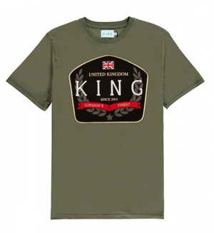 KING APPAREL CAMISETA  THE IMPERIAL VERDE