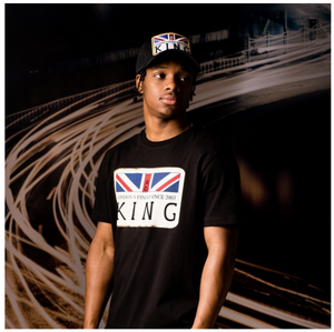 KING APPAREL THE MONARCH TEE BLACK