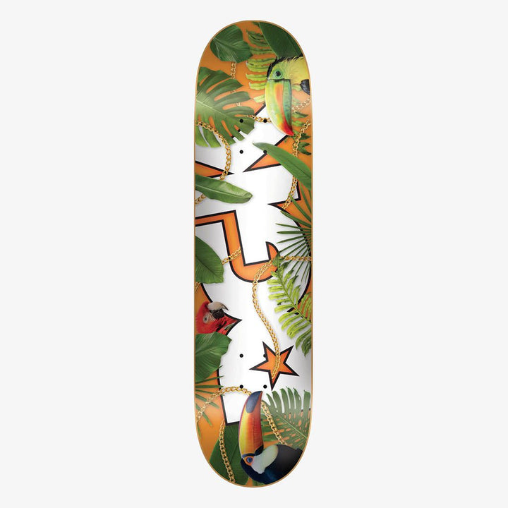 "DGK TABLA DE SKATE TROPIC HEAT 8.10"" MULTI"