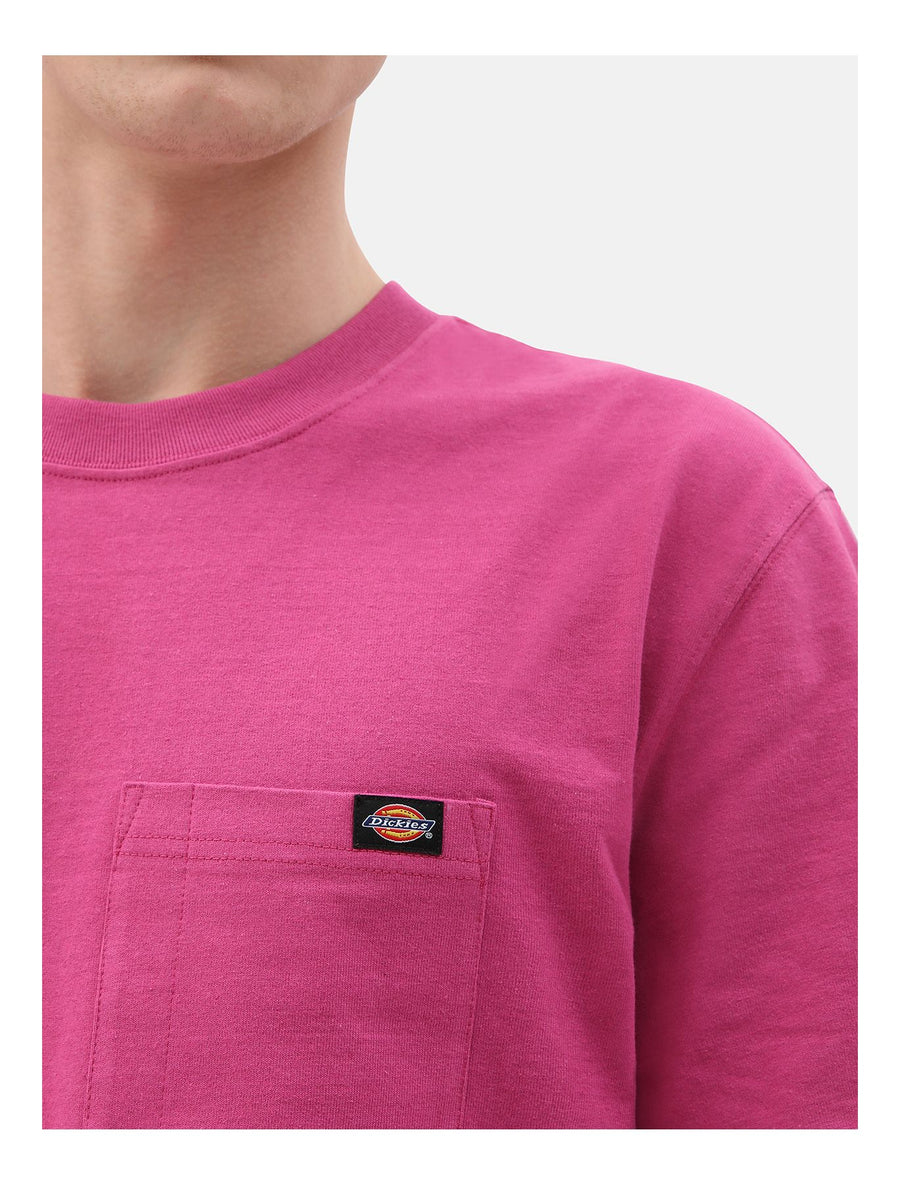 DICKIES T-SHIRT PORTERDALE PINK BERRY