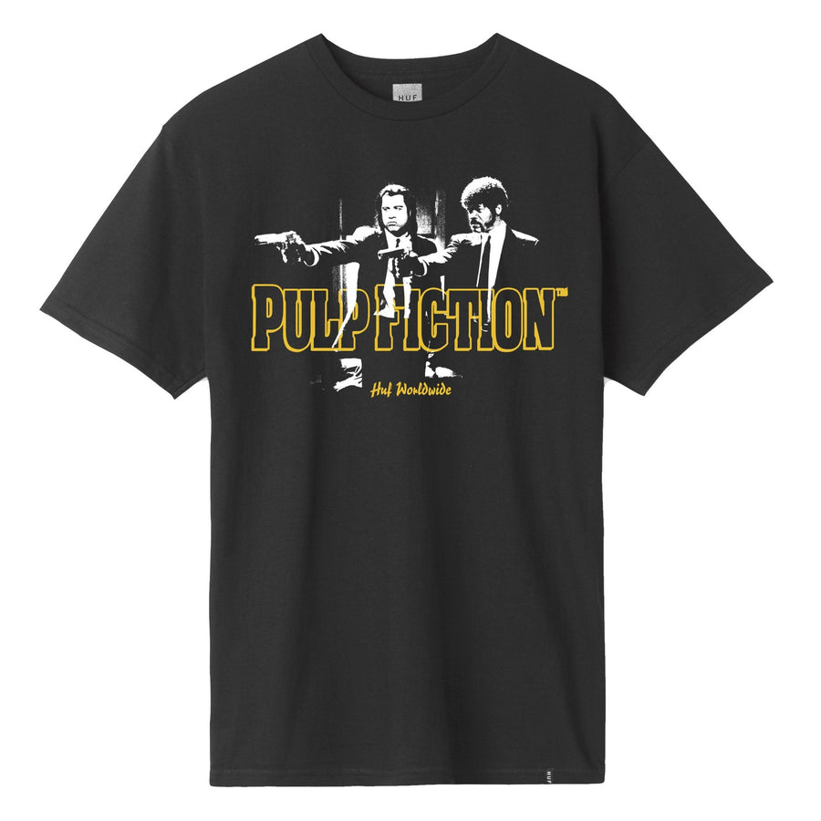 HUF PULP FICTION ERA S/S TEE BLACK