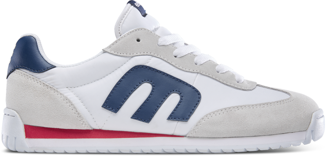 ETNIES LO-CUT CB WOMEN'S WHITE AND NAVY