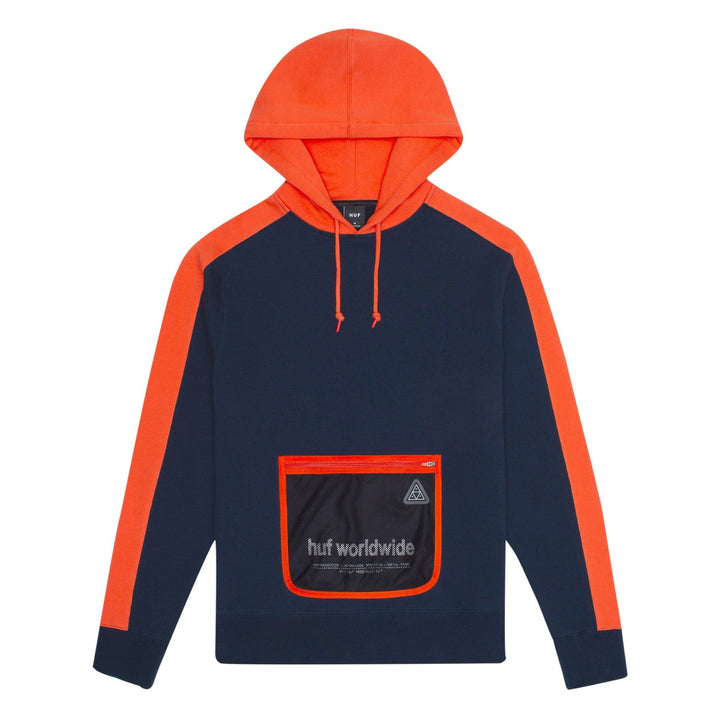 HUF EXPO PULLOVER HOODIE ORANGE