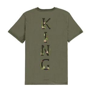 <transcy>KING APPAREL GREEN STEPNEY T-SHIRT</transcy>