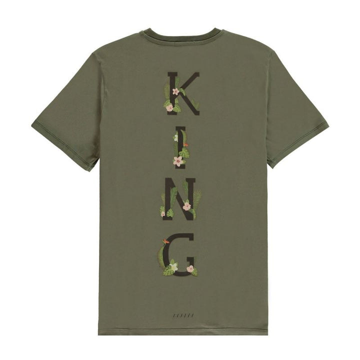 CAMISETA KING APPAREL -STEPNEY TEE- FERN