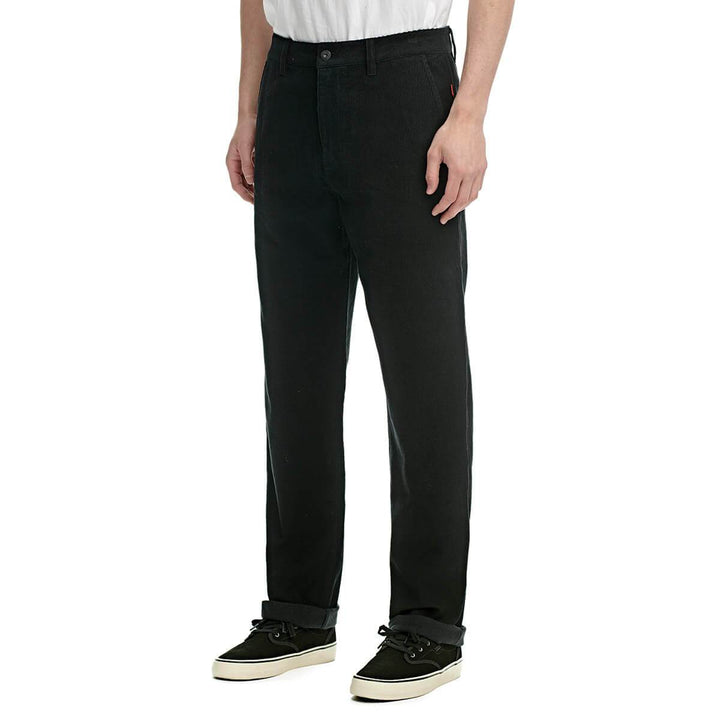 GLOBE CHAOS PANT STRAIGHT FIT BLACK