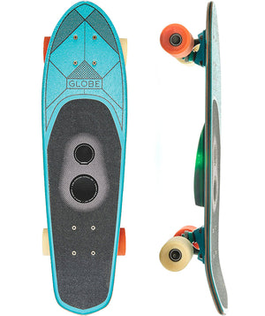 "GLOBE TABLA DE SKATE BLAZER 26"" BLUETOOTH SPEAKER CRUISER COMPLETE SKATEBOARD BLUE"
