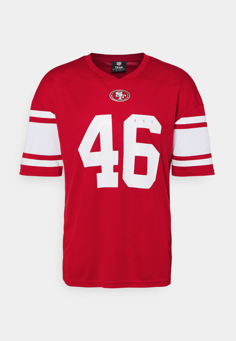 FANATICS NFL CAMISETA JERSEY FRANCHISE POLYMESH SUPPORTER ROJO