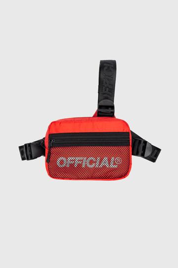 OFFICIAL TRISTRAP CHEST BAG-RED