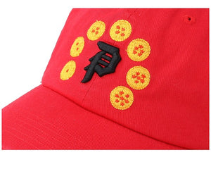 PRIMITIVE GORRA DRAGON BALL Z ROJO