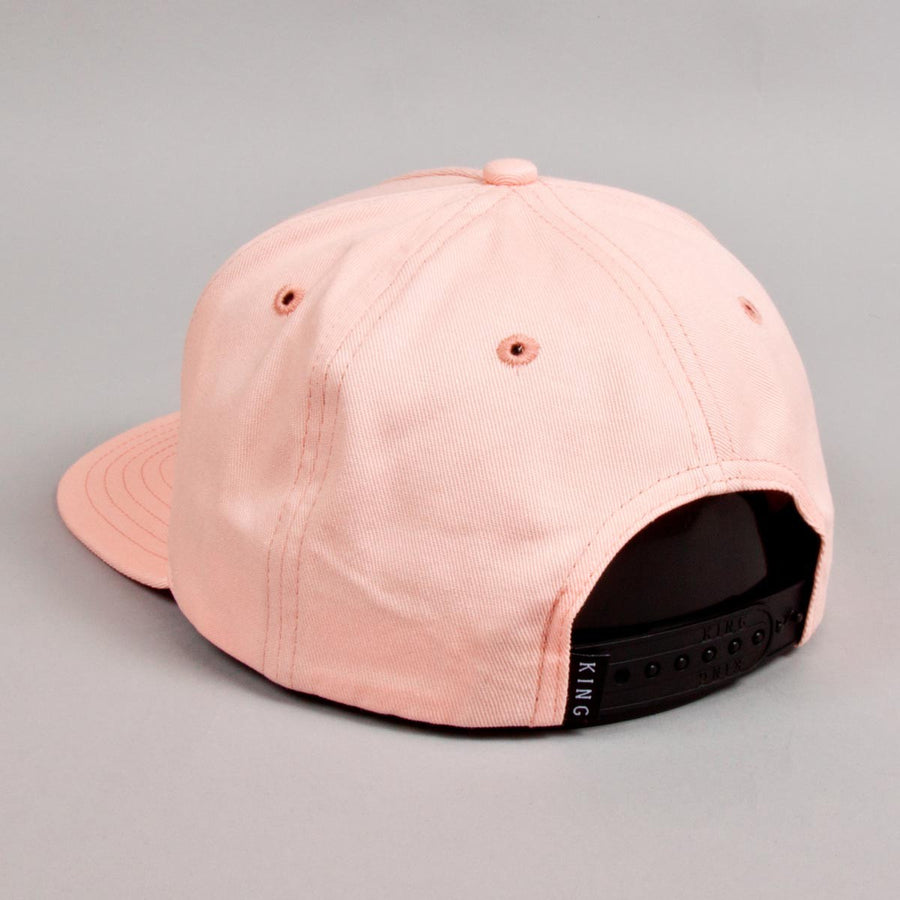 KING APPAREL GORRA BETHNAL PINCH PANEL SNAPBACK ROSA