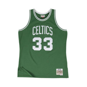 MITCHELL & NESS CAMISILLA NBA BOSTON CELTIS LARRY BIRD VERDE 1985-86