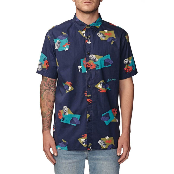 GLOBE BLIND MIND SHORT SLEEVE SHIRT INK