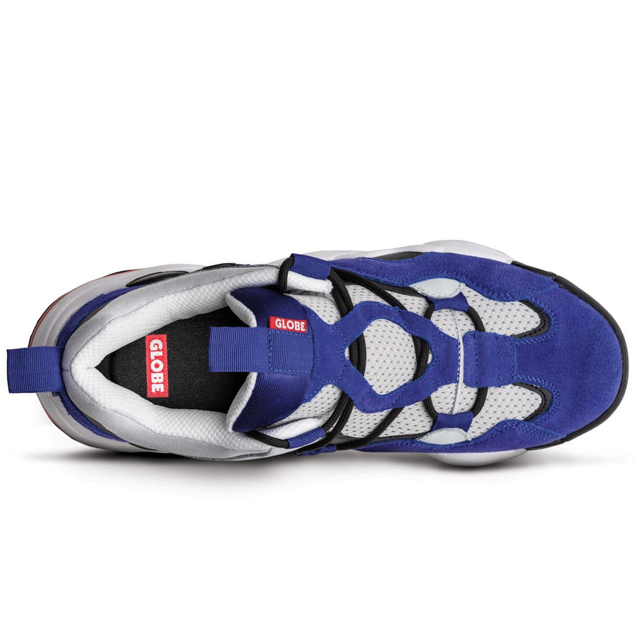 GLOBE ZAPATILLAS  OPTION EVO AZUL / GRIS Y NEGRO