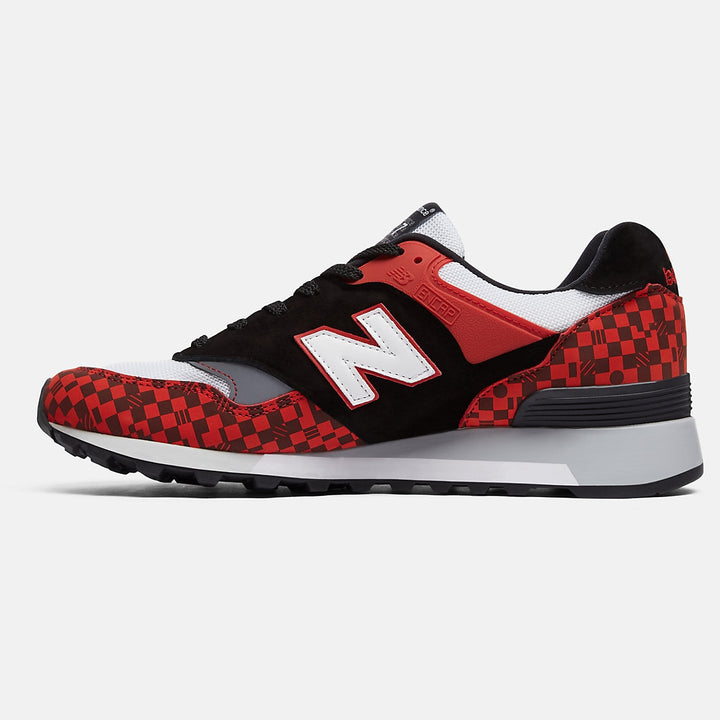 "NEW BALANCE 577 CLASSIC ""RECOUNT"" UK BLACK AND RED"