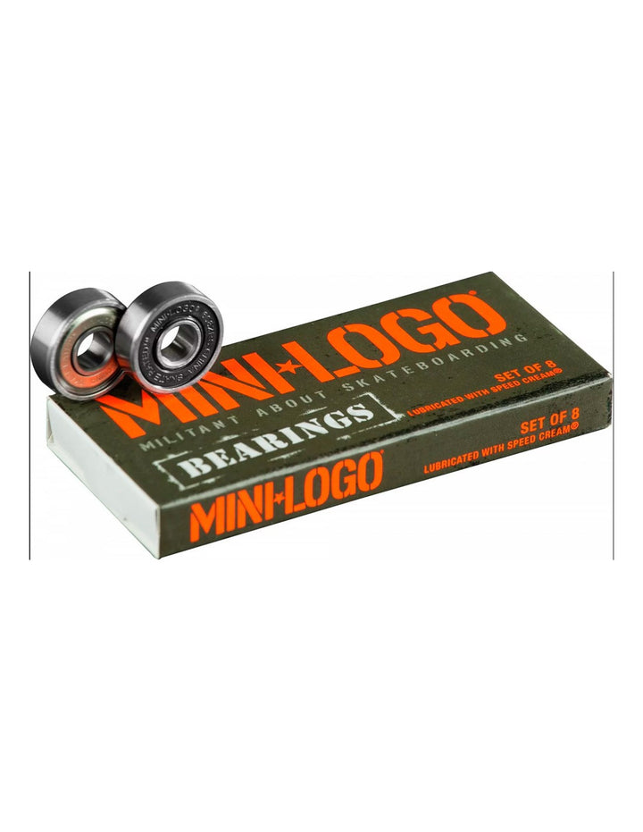 RODAMIENTOS MINI LOGO BEARINGS 8 MM PACK SET