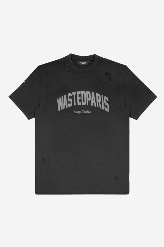 WASTED PARIS CAMISETA COLLEGE NEGRO