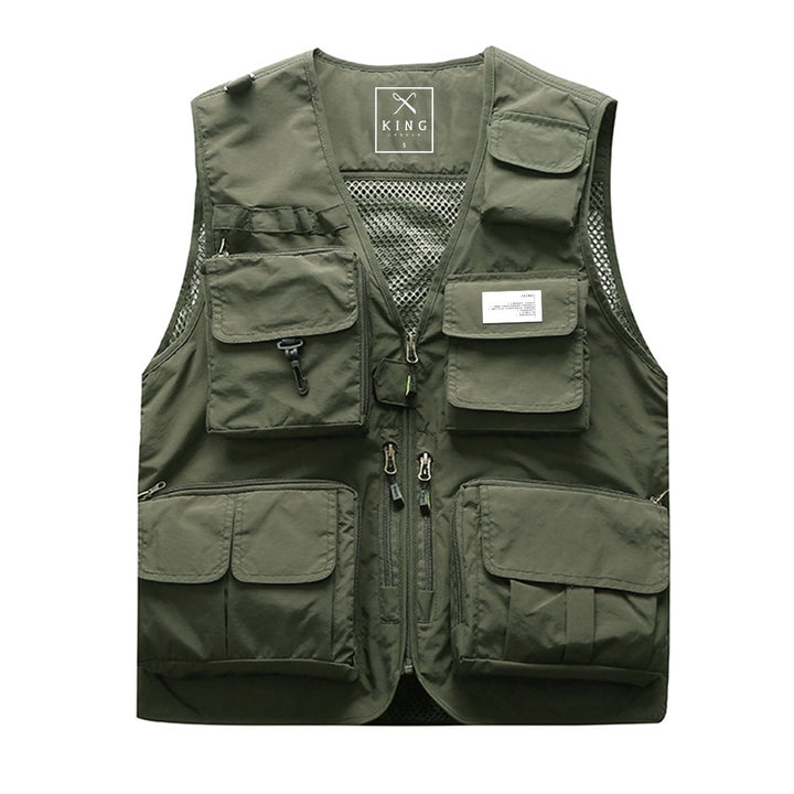 KING APPAREL TACTICAL VEST FERN