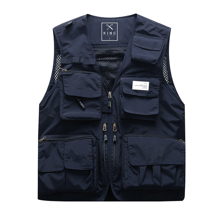 KING APPAREL TACTICAL VEST INK