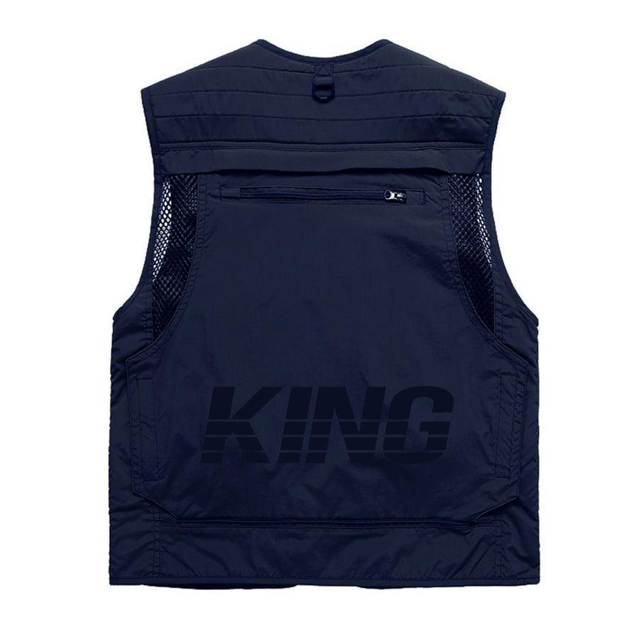 KING APPAREL CHALECO TACTICAL VEST AZUL