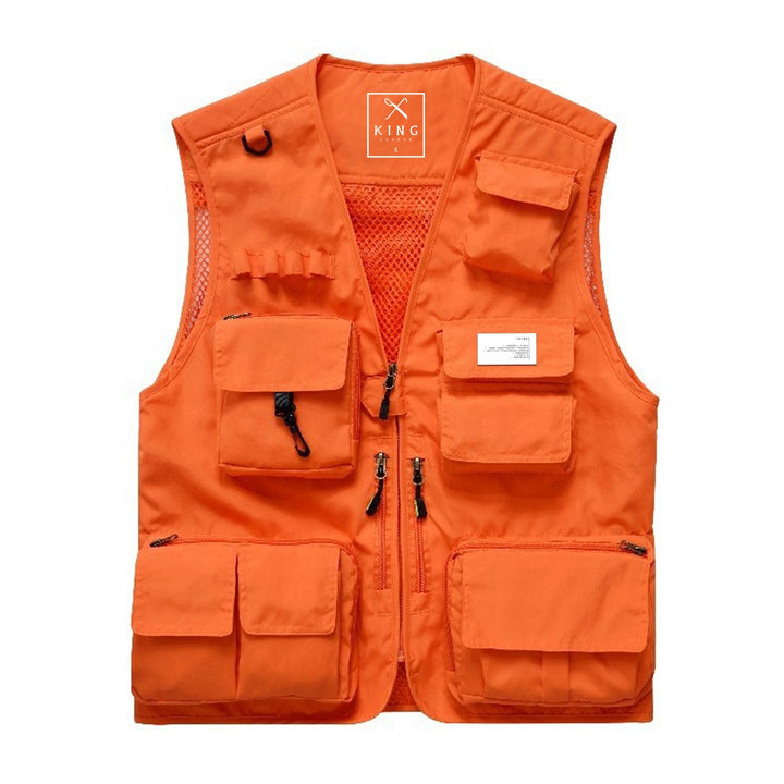 KING APPAREL TACTICAL VEST ORANGE