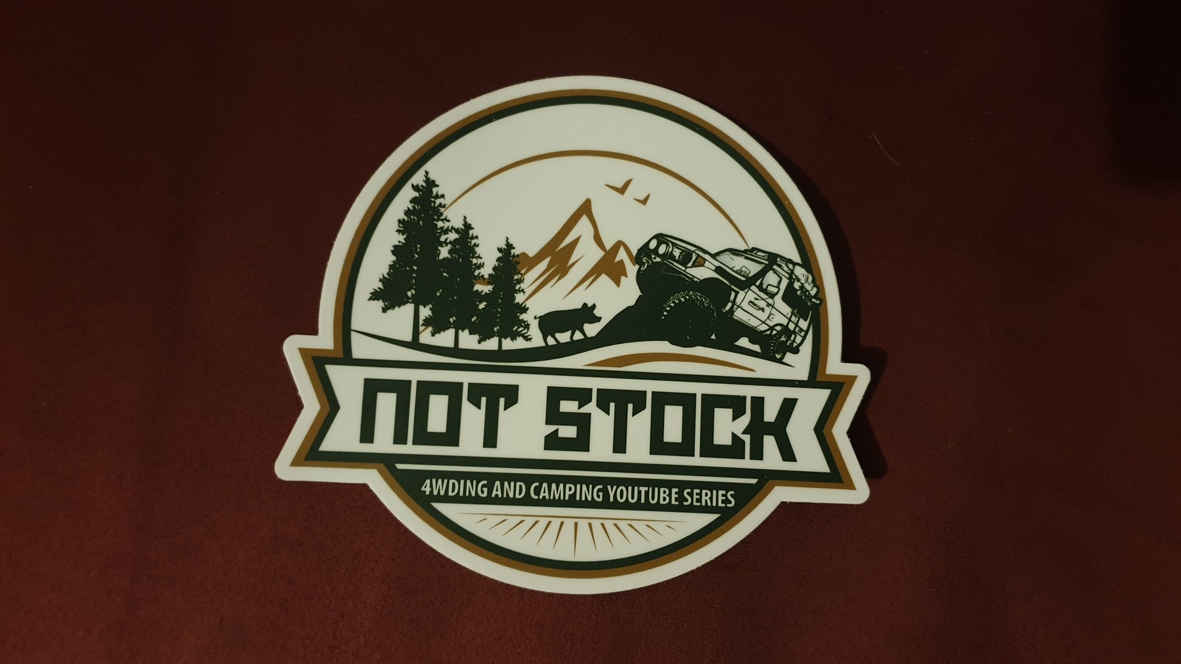 Not Stock Stickers
