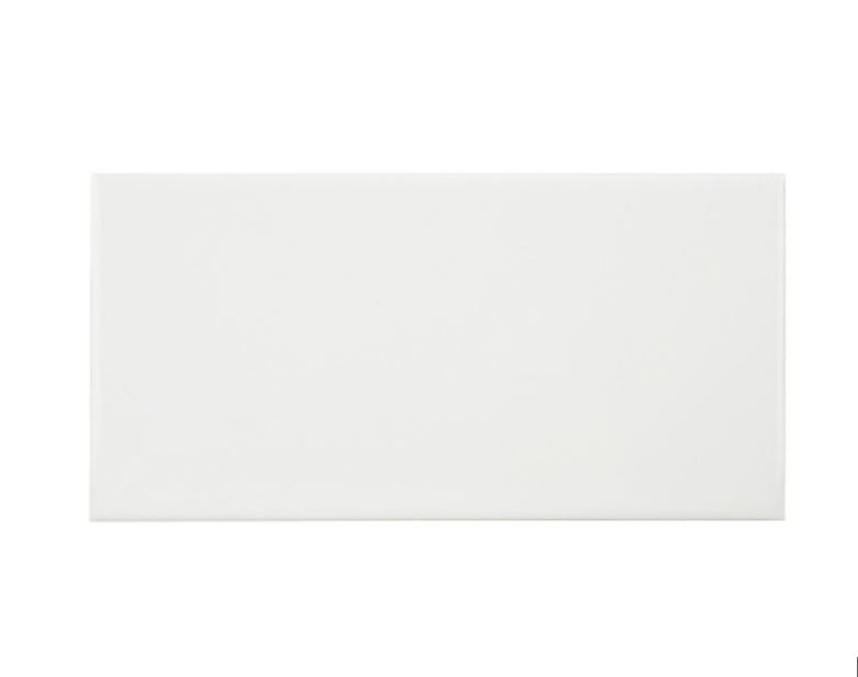 3 x 6 CLASSIC WHITE SUBWAY - MATTE FINISH - 60 PACK