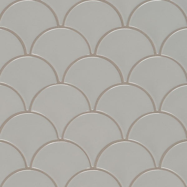 GLOSSY FISH SCALE MOSAIC - 17 PACK