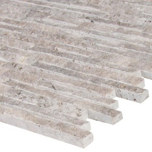 SILVER TRAVERTINE SPLITFACE - 10 PACK