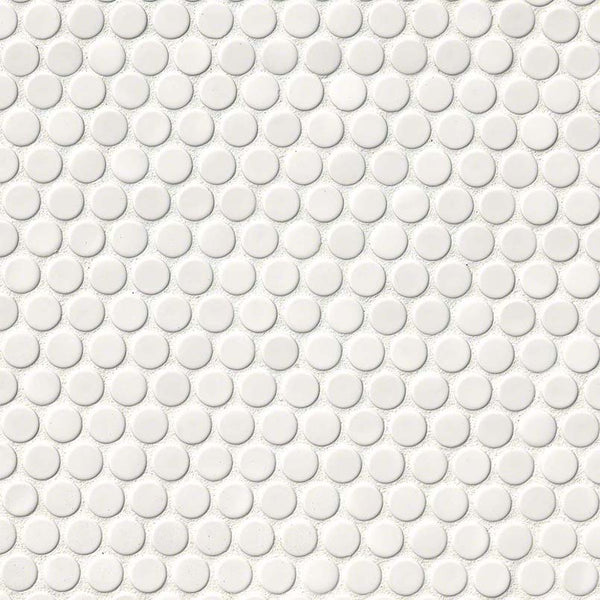 GLOSSY PENNY ROUND MOSAIC - 20 PACK