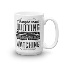 Quitting - Mug - 15oz