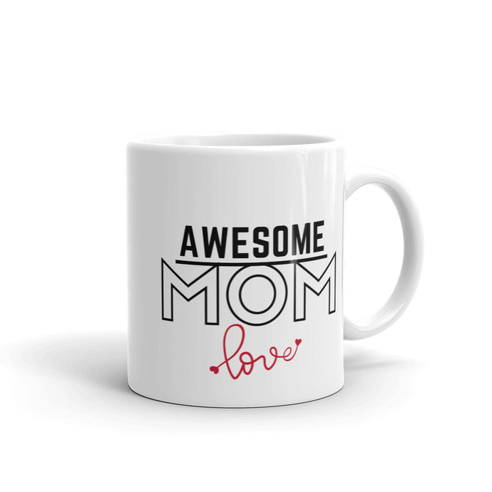 Awsome Mom Mug with love,11oz