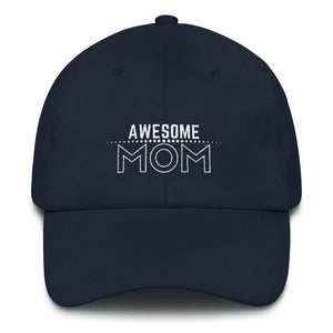 Awesome Mom caps Navy