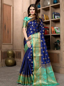 Charvi Attractive Cotton silk saree