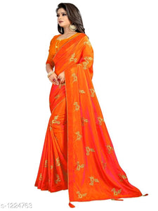 Pihu Pretty Sana Silk Embroidered Sarees